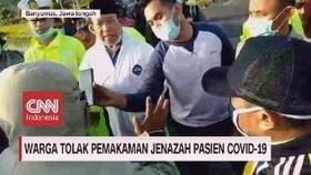 VIDEO: Warga Tolak Pemakaman Jenazah Pasien Covid-19