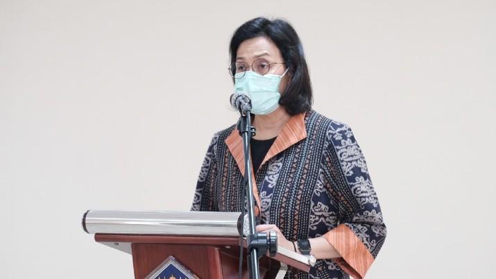 Menteri Keuangan Sri Mulyani Indrawati melantik Febrio Nathan Kacaribu menjadi Kepala Badan Kebijakan Fiskal (BKF) dan Basuki Purwadi sebagai Direktur Utama Lembaga Manajemen Aset Negara (LMAN).