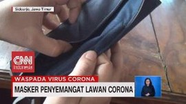 VIDEO: Masker Penyemangat Lawan Corona