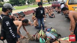 Polisi Gerebek Kerumunan Sabung Ayam Semarang di Saat Corona