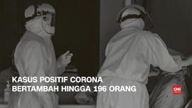 VIDEO: 3 April, Kasus Positif Corona Bertambah 196 Orang