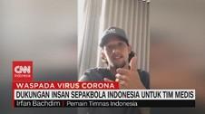 VIDEO: Dukungan Insan Sepakbola Indonesia Untuk Tim Medis