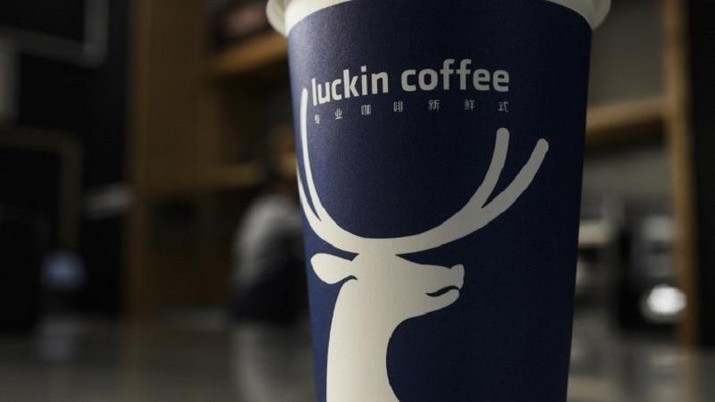 Luckin Coffee/FRED DUFOUR / AFP)