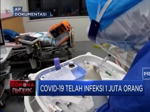 1 Juta Orang Terinfeksi Covid-19 Hanya Dalam Waktu 4 Bulan