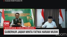 VIDEO: Gubernur Jabar Ridwan Kamil Minta Fatwa Haram Mudik