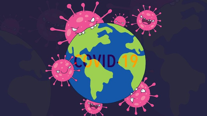 Jumlah kasus virus corona (COVID-19) di seluruh dunia mencapai 1.097.810 pada Sabtu (4/4/2020).