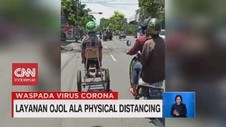 VIDEO: Layanan Ojol ala Physical Distancing