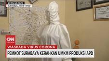 VIDEO: Pemkot Surabaya Kerahkan UMKM Produksi APD
