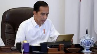 Pesan Jokowi Bagi Warga Hadapi Pandemi Corona