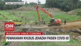 VIDEO: Pemakaman Khusus Jenazah Pasien Covid 19