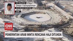 VIDEO: Pemerintah Arab Minta Rencana Haji Ditunda