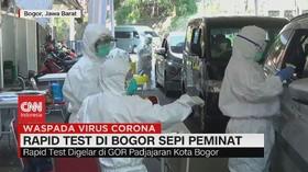 VIDEO: Rapid Test di Bogor Sepi Peminat