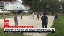 VIDEO: Santainya Warga DKI Hadapi Wabah Covid-19