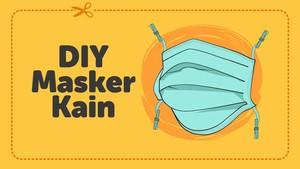 INFOGRAFIS: DIY Masker Kain