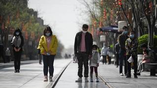 Kasus Corona dengan Gejala di China Dilaporkan Nihil