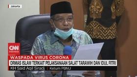 VIDEO: Ormas Islam Soal Salat Tarawih & Idul Fitri Saat Wabah