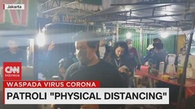 VIDEO: Patroli 'Physical Distancing'
