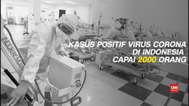 VIDEO: Positif Virus Corona di Indonesia Tembus 2.092 Kasus