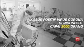 VIDEO: Positif Virus Corona di Indonesia Tembus 2.092 Kasus
