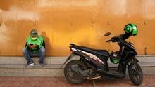 Anies Tunggu Restu Pusat Soal Ojek Angkut Orang di PSBB