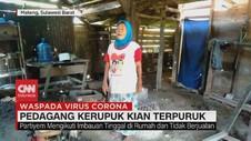 VIDEO: Pedagang Kerupuk Kian Terpuruk Akibat Covid-19