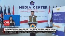 VIDEO: Pemerintah Imbau Masyarakat Pakai Masker Kain