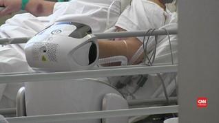 VIDEO: Italia Gunakan Robot untuk Rawat Pasien Covid-19