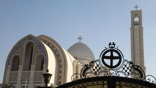 Gereja Koptik Mesir Tunda Perayaan Pekan Suci Paskah