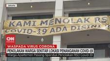 VIDEO: Warga Tolak Keras Lokasi Penanganan Covid-19