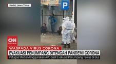 VIDEO: Evakuasi Penumpang di Tengah Pandemi Corona