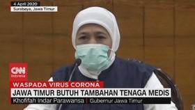 VIDEO: Jawa Timur Butuh Tambahan Tenaga Medis