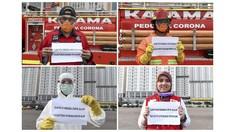 FOTO : Mereka yang Tetap Mengabdi di Tengah Pandemi