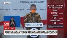 VIDEO: Kasus Positif Corona Bertambah Menjadi 2273
