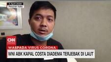VIDEO: WNI ABK Kapal Costa Diadema Terjebak di Laut