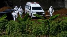 Polisi Dikerahkan Kawal Pemakaman Jenazah Pasien Virus Corona