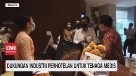VIDEO: Dukungan Industri Perhotelan Untuk Tenaga Medis