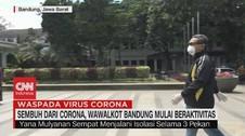 VIDEO: Sembuh Dari Corona, Wawalkot Bandung Mulai Aktivitas
