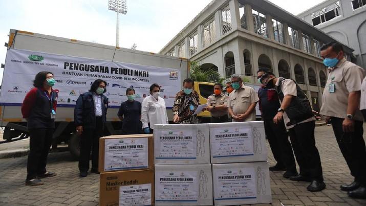 Pengusaha Bersatu Lawan COVID-19, Targetkan Donasi Rp 500 M