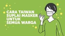 Cara Taiwan Suplai Masker untuk Semua Warga