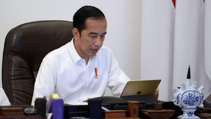 Presiden Joko Widodo (BPMI Setpres/Kris)