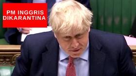 VIDEO: PM Inggris Dikarantina di Downing Street
