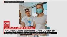 VIDEO: Andrea Dian Sembuh dari Covid-19