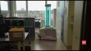 VIDEO: Robot Gunakan Sinar UV untuk Bunuh Kuman