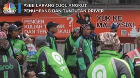 PSBB Larang Grab-Gojek Cs Angkut Penumpang & Tuntutan Driver