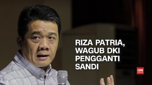 VIDEO: Riza Patria Resmi Jadi Wagub DKI Pengganti Sandi
