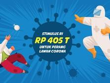 Stimulus Indonesia Rp 405 T untuk Perang Lawan Covid-19