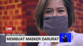 VIDEO: Tips Membuat Masker Darurat