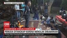 VIDEO: Polisi Tangkap 7 Pemuda Karena Menolak Dibubarkan