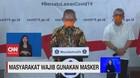VIDEO: Pemerintah: Masyarakat Wajib Gunakan Masker
