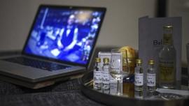 FOTO: Gin Tasting Online, Cara Baru Cicip Miras di Bar